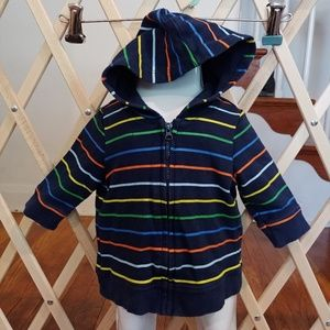 🚨3-6 months colorful striped hoodie🚨